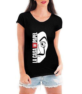 Camiseta La Casa De Papel Feminina