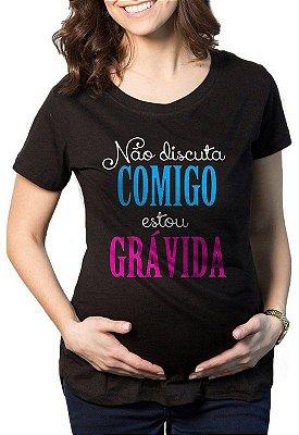 Camiseta Gestantes Estou Grávida