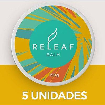 5 UNIDADES DO CREME PARA DOR MUSCULAR - Releaf Balm . 150g / cada