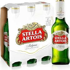 STELLA ARTOIS long neck 330ml (pack c/6)