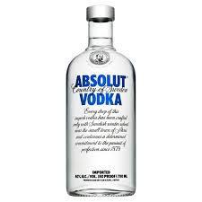 Vodka ABSOLUT com 1L