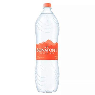 Água BONAFONT com 1,5L