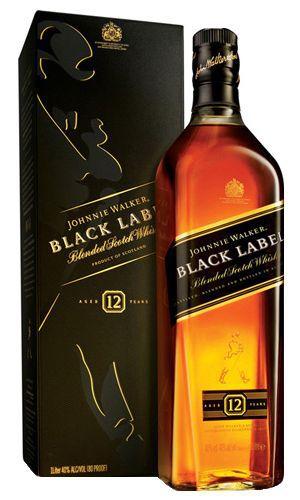 Whisky BLACK LABEL com 1L