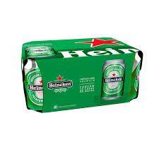 HEINEKEN lata 350ml (caixa c/12)