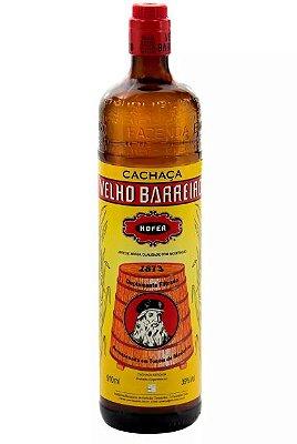 Aguardente VELHO BARREIRO garrafa 910ml