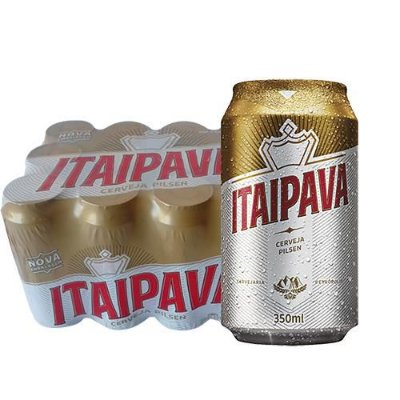 ITAIPAVA lata 350ml (caixa c/12)