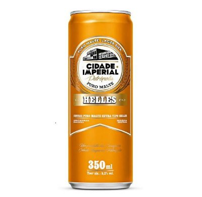 CIDADE IMPERIAL HELLES lata 350ml