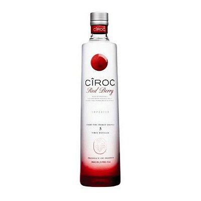 Vodka CIROC REDBERRY com 750ml