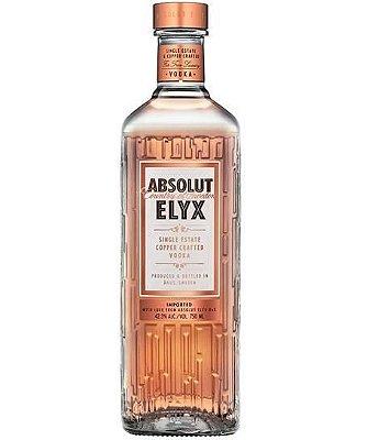 Vodka ABSOLUT ELYX com 750ml