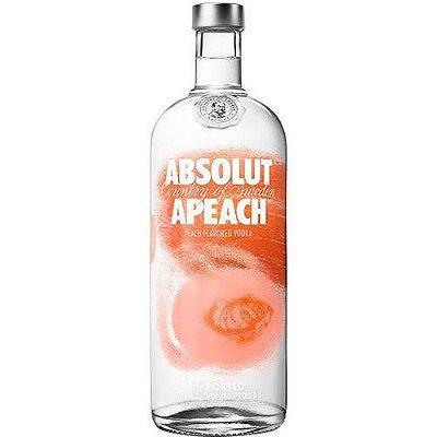 Vodka ABSOLUT APEACH com 750ml
