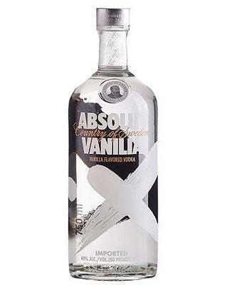 Vodka ABSOLUT VANILIA com 750ml