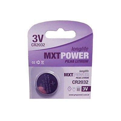 Bateria 3V Lithium MXT CR2032