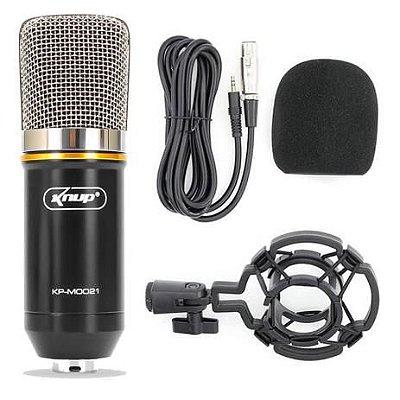 Microfone Condensador Knup P2 / XLR KP-M0021