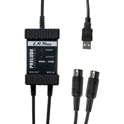 Interface Midi / USB Prelude Conecta v3