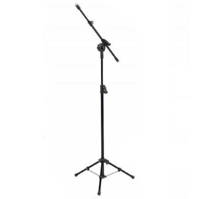 Pedestal para 2 Microfones Girafa Visão PE3TBK