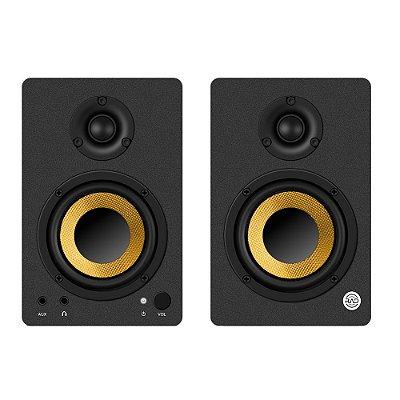 Monitor de Referência para Home Studio RAD RM350 50W