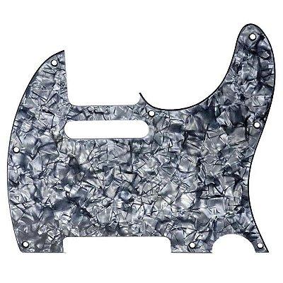 Escudo para Guitarra Telecaster Dolphin Pérola Negra