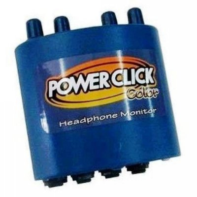 Amplificador para Fone Power Click Color Blue