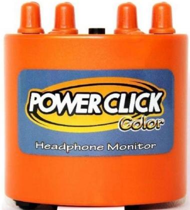 Amplificador para Fone Power Click Color DB05 Orange