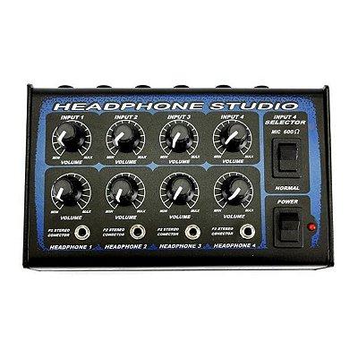 Amplificador para Fone Power Click MX4x4