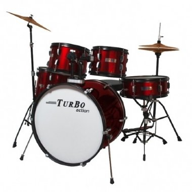 Bateria Acústica Turbo Action SP-525C MW