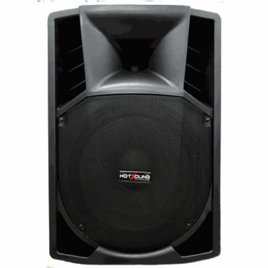 "Caixa Amplificada 15"" Hot Sound HSB15P 300W"