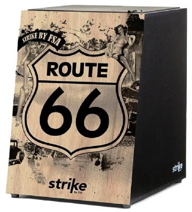 Cajón Acústico FSA Strike SK 4010 Route 66