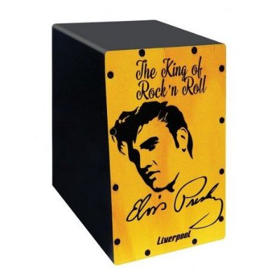 Mini Cajón Liverpool Elvis CAJ ELV