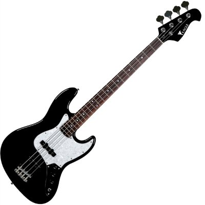 Contrabaixo 4 Cordas Eagle Jazz Bass SJB005 BK Passivo