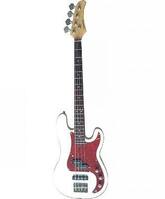 Contrabaixo 4 Cordas Strinberg Precision Jazz Bass PBS40 WH Passivo