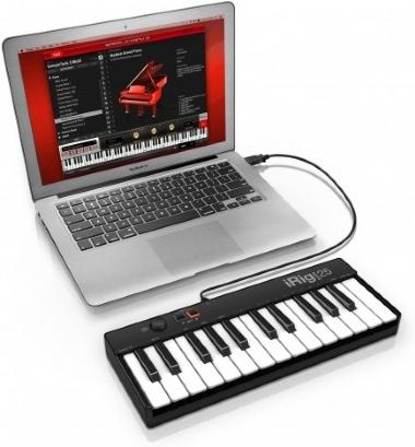 Controlador Midi iRig Keys 25 USB
