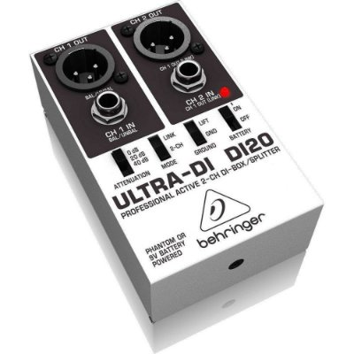 Direct Box Ativo Behringer Ultra-DI DI20