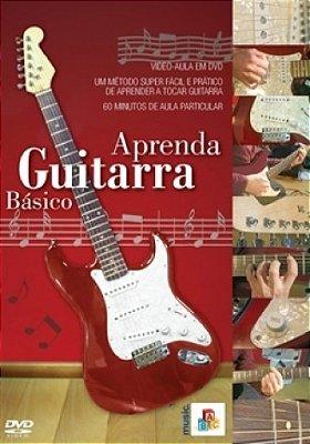 DVD Aula Aprenda Guitarra Básico