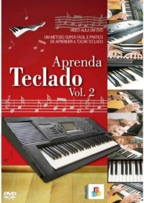 DVD Aula Aprenda Teclado - Vol 2