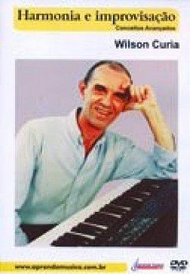 DVD Aula Harmonia e Improvisação Teclado Avançado