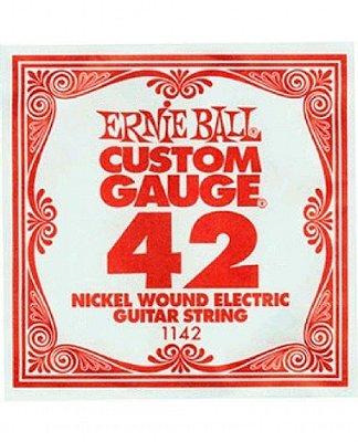 Corda Avulsa Guitarra .042 Ernie Ball A (Lá) 1142