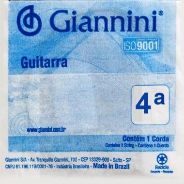 Corda Avulsa Guitarra Giannini GEEGST9.4 4ª Ré