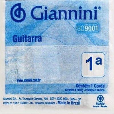 Encordoamento Avulso Guitarra Giannini GLS1 1ª Mí