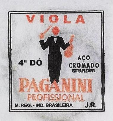 Encordoamento Avulso Viola de Arco Paganini C (Dó)