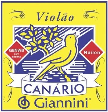 Encordoamento Avulso Violão Nylon Giannini Canário GENWB 6ª Mí