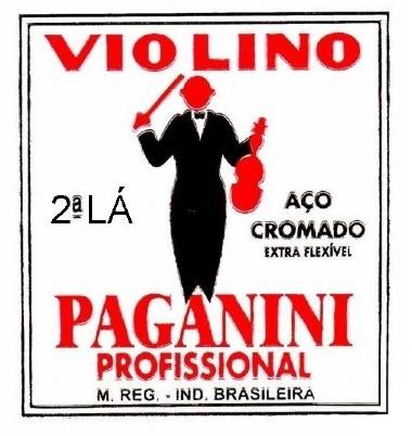 Encordoamento Avulso Violino Paganini A (Lá)