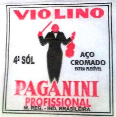 Encordoamento Avulso Violino Paganini G (Sol)