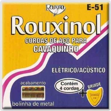 Encordoamento Cavaco .011 Rouxinol E-51