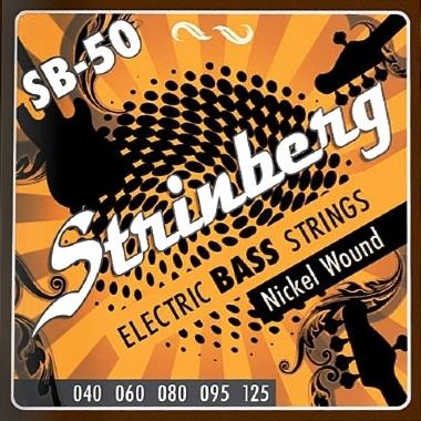 Encordoamento Contrabaixo 5 Cordas .040 Strinberg SB-50