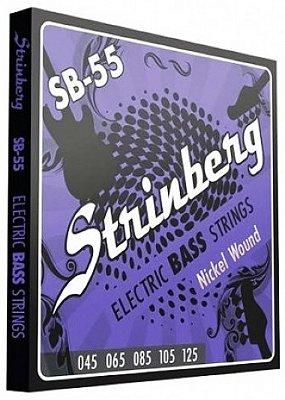 Encordoamento Contrabaixo 5 Cordas .045 Strinberg SB-55