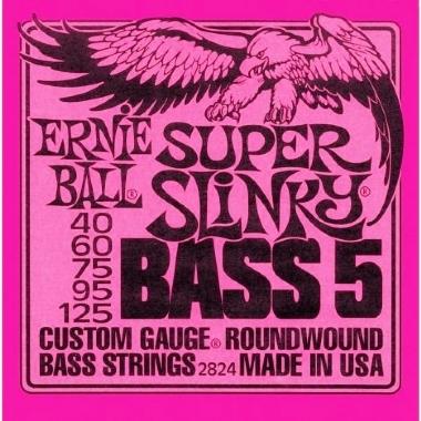 Encordoamento Contrabaixo 5 Cordas Super Slinky Bass 5 .040 Ernie Bal