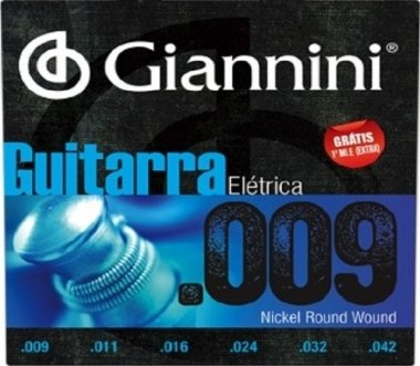 Encordoamento Guitarra .009 Giannini GEEGST9
