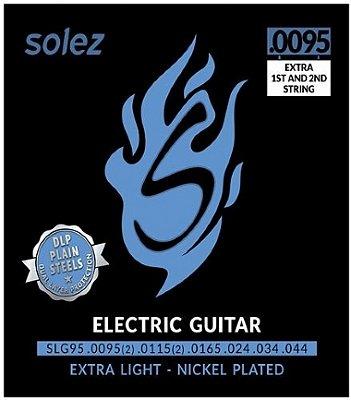 Encordoamento Guitarra .0095 Solez Extra Light SLG95