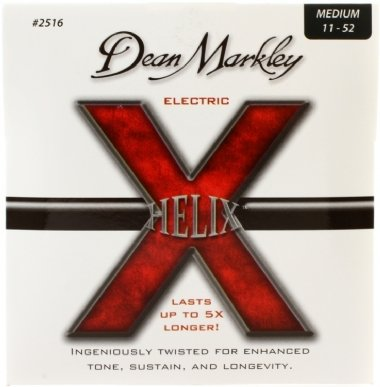Encordoamento Guitarra .011 Dean Markley Helix Medium 2516