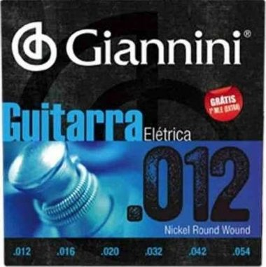 Encordoamento Guitarra .012 Giannini GEEGST12